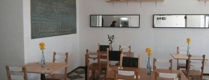 Pereza Ramona food studio is one of Málaga barrio.