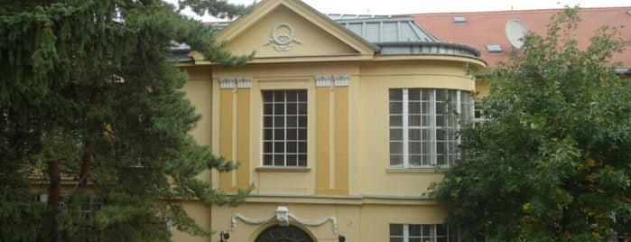 OSZMI - Országos Színháztörténeti Múzeum és Intézet is one of Budapest Sightseeing.
