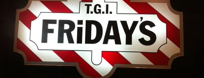 T.G.I. Friday's is one of hotspots.