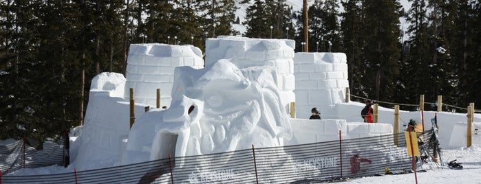 Kidtopia SnowFort is one of Winter Family Activities at Keystone!.