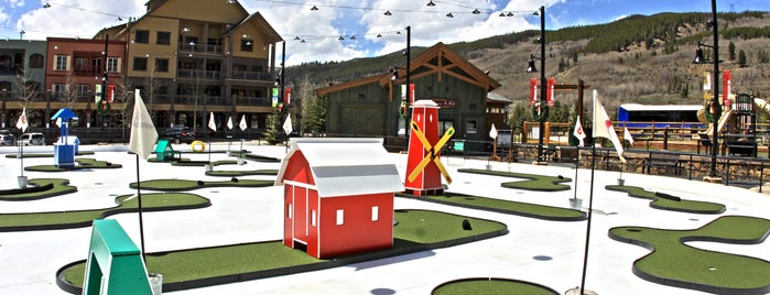Keystone Putt Putt Course is one of Summer Family Activities at Keystone!.