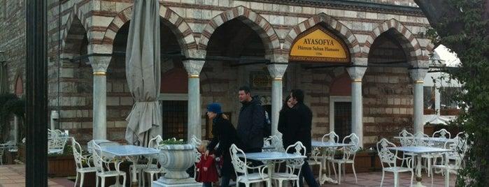 Ayasofya Hürrem Sultan Hamamı is one of 10 best hamams in Istanbul.
