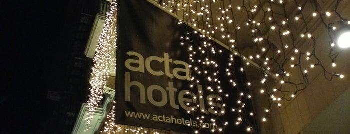 Hotel Acta Atrium Palace is one of Los mejores hoteles para esta noche en Barcelona.