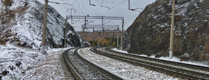 Ж/д станция Яблоновая is one of Транссибирская магистраль.