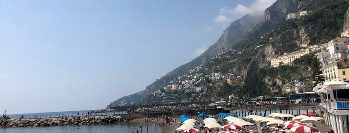 Amalfi Beach is one of Amalfi.