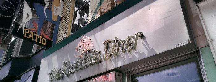 The Rosedale Diner is one of Bars and Clubs.