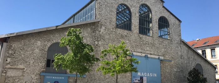 Le Magasin is one of Art contemporain en province.