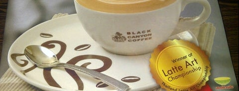 Black Canyon Coffee is one of Black Canyon Cafe - La Codefin Kemang.