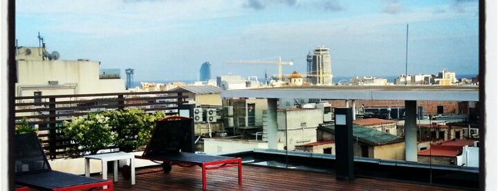 Hotel Jazz is one of The 15 Best Places with a Rooftop in Barcelona.