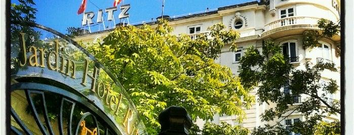 Hotel Ritz is one of Terrazas Madrid.