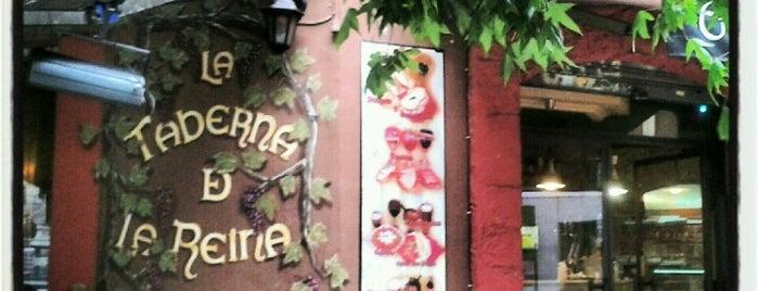 La Taberna de la Reina is one of Terrazas Madrid.