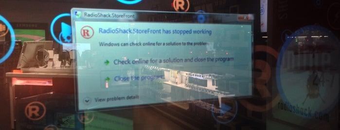 RadioShack is one of New York.
