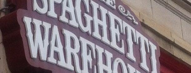 Spaghetti Warehouse is one of Dayton's Best Restaurants.