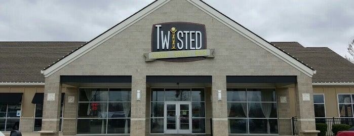 TWIISTED Burgers & Sushi is one of Top Restaurants.