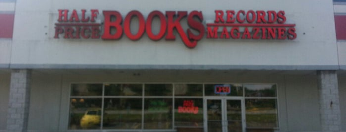 Half Price Books is one of Places tried: recommend.