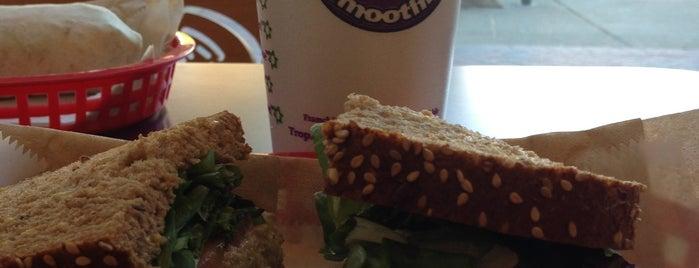 Tropical Smoothie Café is one of Virginia/Washington D.C..