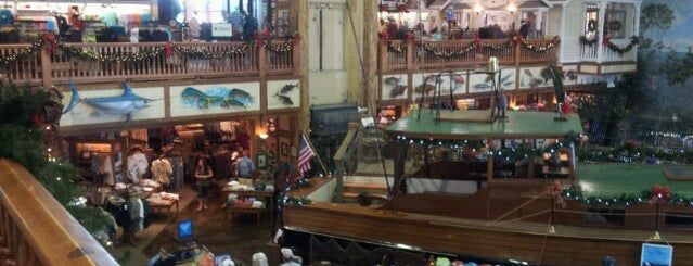 World Wide Sportsman (Bass Pro Shops) is one of The Florida Keys.