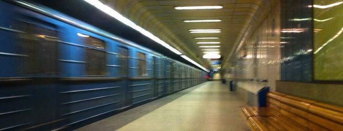 Forgách utca (M3) is one of Budapesti metrómegállók.