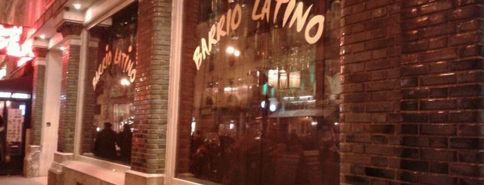 Barrio Latino is one of Bars.