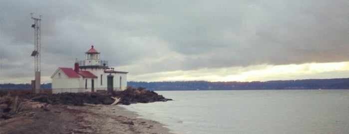 Discovery Park West Pt. Lighthouse is one of Seattle Tourism.