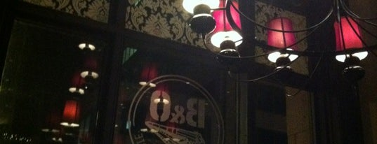 B&O American Brasserie is one of Pubs Breweries and Restaurants.