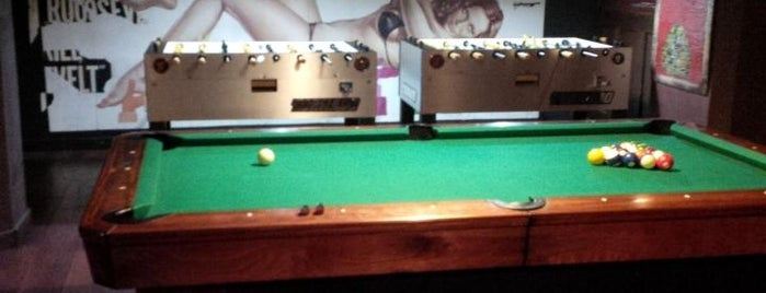 Soho Billiards is one of places I like.