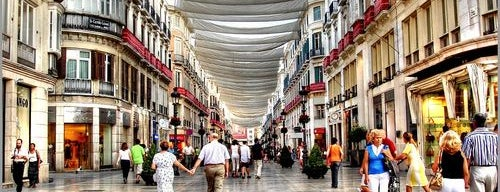 Calle Marqués de Larios is one of Qué visitar en la Costa del Sol.