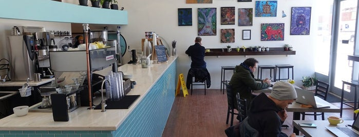 Little Bean Coffee is one of NYC | Best New Cafes | 2017.