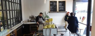 Three Seat Espresso & Barber is one of NYC | Best New Cafes | 2017.