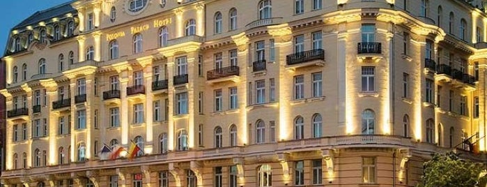 Polonia Palace Hotel is one of Гостиницы.
