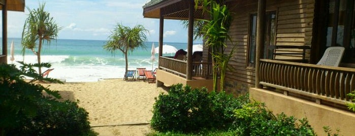 Baan Pakgasri Hideaway Bungallows is one of Go to Lanta. Be Bamboocha..