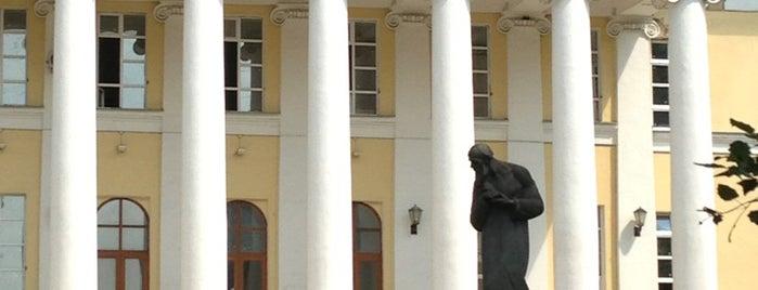 Музей-квартира Ф. М. Достоевского is one of moscow museums.
