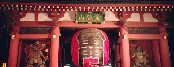 Kaminarimon Gate is one of 訪れた宗教センター.