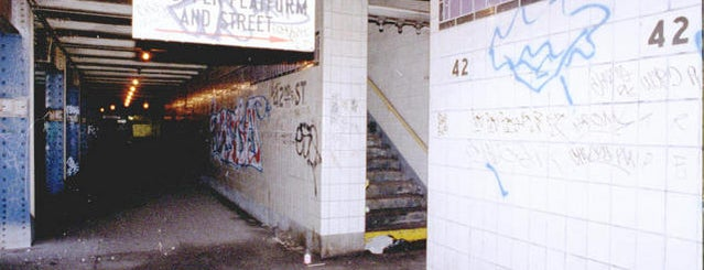 MTA Subway - 42nd St/Times Square/Port Authority Bus Terminal (A/C/E/N/Q/R/S/W/1/2/3/7) is one of Abandoned NYC.