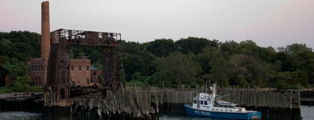 North Brother Island is one of Abandoned NYC.