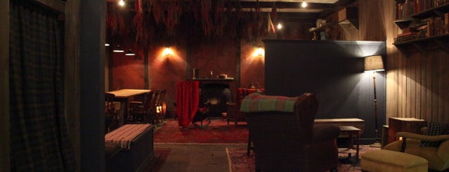 The Lodge at Gallow Green is one of Hidden Bars & Restaurants in NYC.