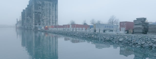 Red Hook Grain Terminal is one of Abandoned NYC.