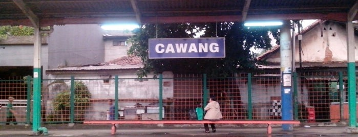 Stasiun Cawang is one of activity goes to campus.