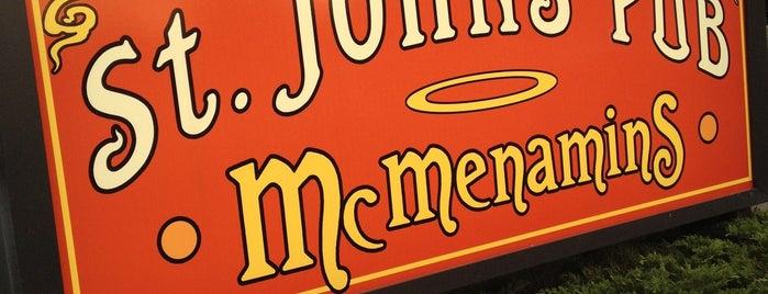 McMenamins St. John's Theater and Pub is one of McMenamin's.