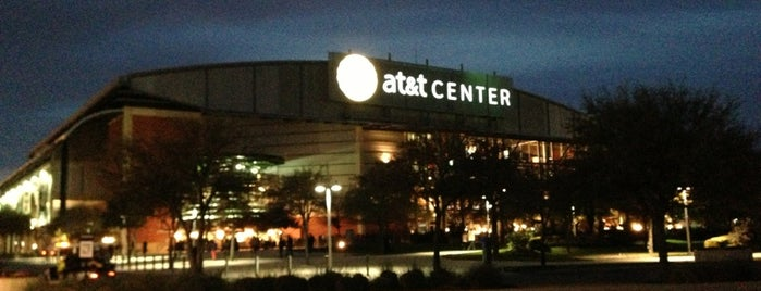 AT&T Center is one of Venue.