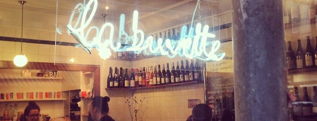 La Buvette is one of Fave Paris spots.