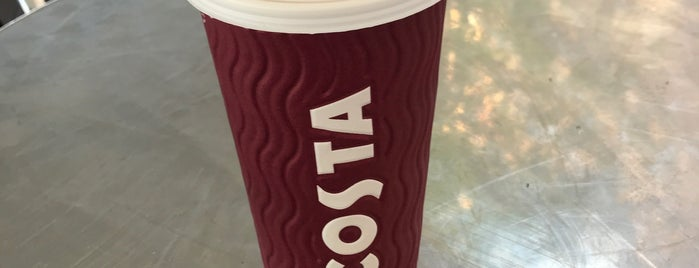 Costa Coffee is one of Dog friendly.