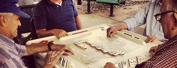 Maximo Gomez Domino Park is one of Thrillist's Best Day of Your Life: Miami.