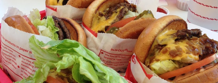 In-N-Out Burger is one of Mountain View.