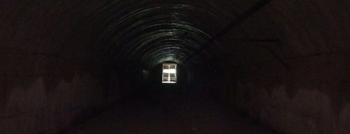 Podzemní továrna Rabštejn is one of Doly, lomy, jeskyně (CZ).