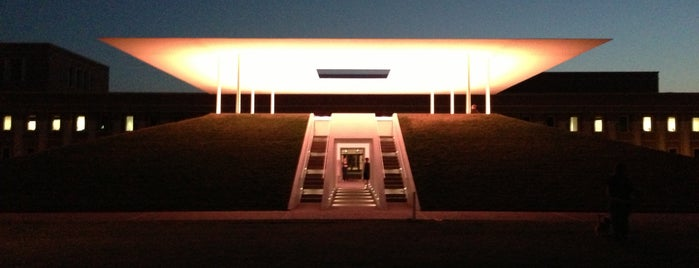 James Turrell Skyspace at Rice University is one of The 15 Best Places for Sunsets in Houston.