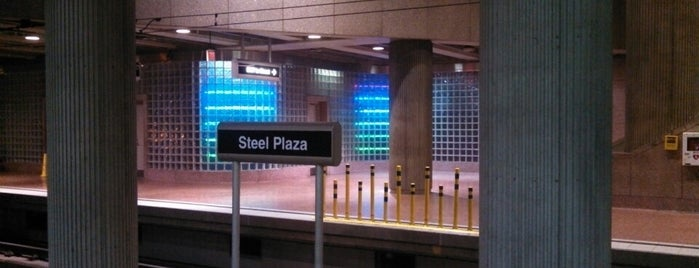 Port Authority Steel Plaza Station is one of Port Authority Trolley.