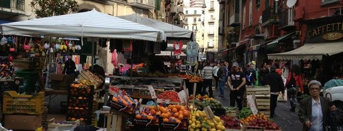 Mercato Pignasecca is one of Naples, Capri & Amalfi Coast.