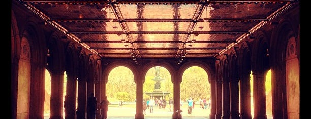 Bethesda Terrace is one of NYC Manhattan 14th-65th Sts & Central Park.