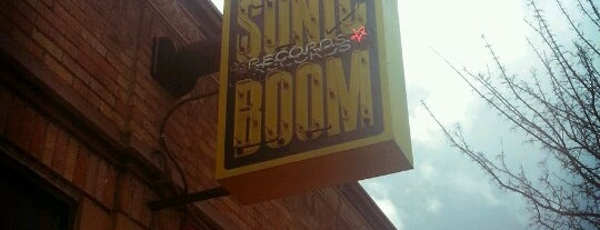 Sonic Boom Records is one of Seattle.